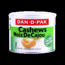 越南DAN.D.PAK丹蒂 鹽味腰果227g 罐裝 堅果炒貨休閑零食品 進口零食品