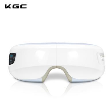 KGC/卡杰詩眼部按摩儀護眼儀眼睛按摩器熱敷緩解眼疲勞無線充電式眼部按摩器【珍珠白】