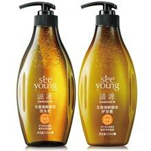 滋源生姜强根健发套装(中干性) 洗头水535ml+ 护发素535ml