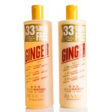 【支持购物卡】露华浓生姜洗发水护发素套装 洗发水+护发素 600ml*2
