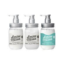 【1+1+1】AMINO MASON 氨基研升级氨基酸头皮护理滋养洗护沐浴系列组合套装
