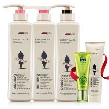 【精选推荐】阿道夫洗发护发沐浴大包装组合三件套800g超大瓶装