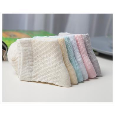 夏季网孔儿童棉袜5双装