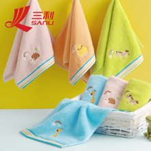 三利动物王国童巾