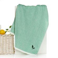 【三利毛巾面巾,妈妈放心】三利绿茶面巾