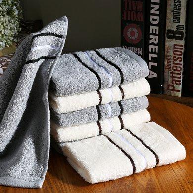 金号巾选清然系列 纯棉毛巾 小方巾 儿童毛巾 35*33cm袋装