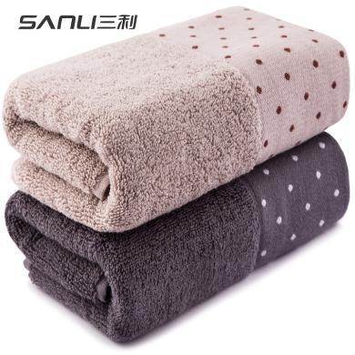 三利精梳棉毛巾純棉洗臉家用加厚柔軟吸水成人全棉面巾JS810