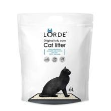 lorde豆腐猫砂除臭水晶玉米植物猫咪用品猫砂6L