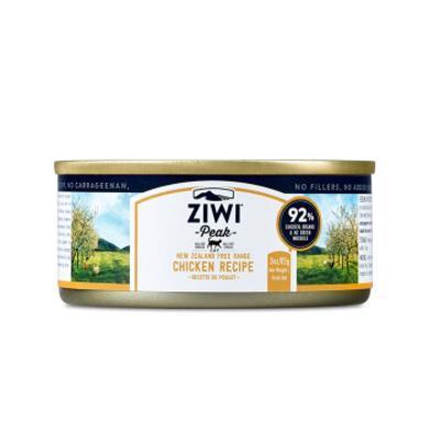 【ZIWI巔峰】滋益巔峰雞肉貓罐頭85g