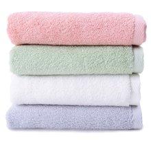 菲爾芙精梳棉素色緞檔浴巾(淺綠)THFR26BL(150cm*75cm)