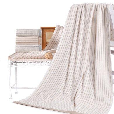 潔麗雅 棉柔經典條紋浴巾 超吸水男女情侶成人保暖大浴巾6451A