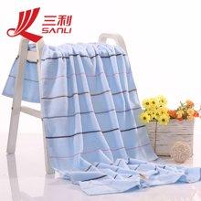 三利彩虹緞浴巾