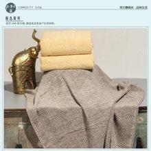 纯棉AB股纱浴巾