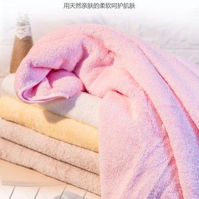 精梳埃及長絨棉包布邊兒童浴巾(加厚款)