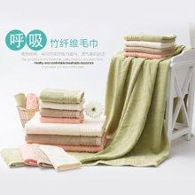 孚日 竹纤维柔软加厚加大大浴巾  女士、男士、儿童通用吸水