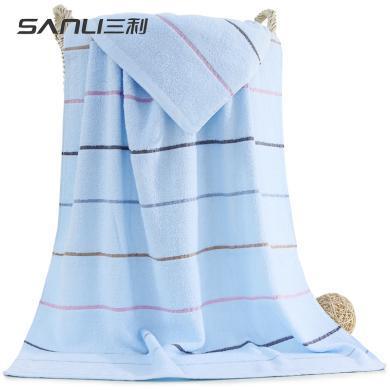 三利彩虹緞浴巾70*140cm