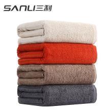三利纯色浴巾70*140cm