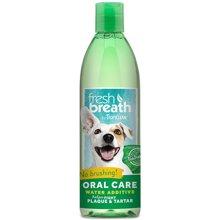 Tropiclean多美潔潔齒水漱口水狗潔牙寵物去除口臭預防牙結石成犬473ml