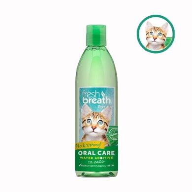 Tropiclean多美潔潔齒水貓漱口水除口臭潔齒預防牙結石 貓咪專用