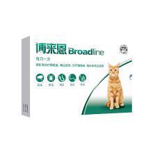 博来恩体内体外驱虫滴剂3支装适用2.5-7.5kg猫咪福来恩猫滴剂升级装