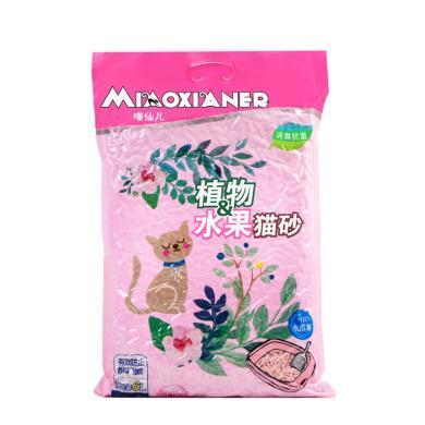 喵仙儿水蜜桃豆腐结团猫砂6L2.6千克真空包装