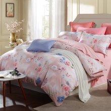博洋家纺 保暖床单四件套-紫陌心语