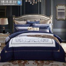 博洋家纺 欧式长绒棉贡缎床单四件套-韵姿