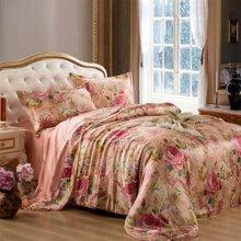 太湖雪 真丝宽幅四件套 丝绸套件 桑蚕丝真丝床上用品婚庆床品