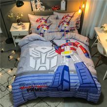 DREAM HOME 四季全棉13070大版卡通系列四件套儿童床单/床笠款卡通萌系586605-6