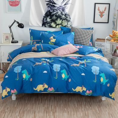 VPLIFE床笠四件套 全棉四件套床品套件