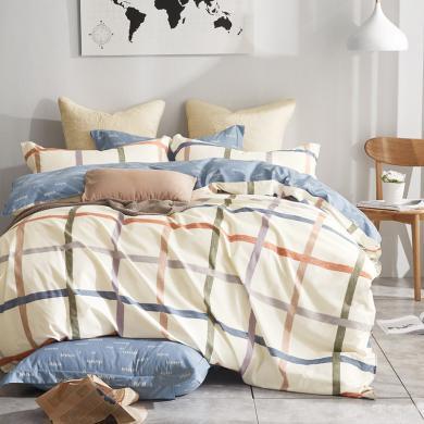 帝豪家纺  纯棉床单  三件套   学生宿舍床上用品    1.2米床