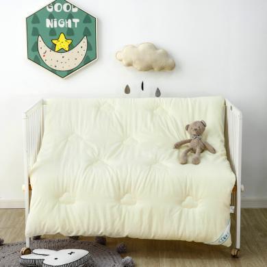 羽芯家紡 水洗棉兒童被芯春秋被冬被純棉寶寶小被子幼兒園被子