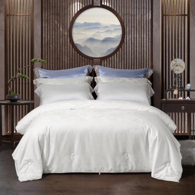 水星家紡 年華如夢桑蠶絲被春秋被床上用品