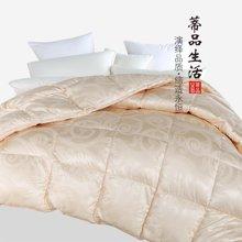 蒂品生活(DIPINHOME)家纺 97%皇家鹅绒被芯 冬天用保暖被子 厚羽绒被芯 冬季床上品