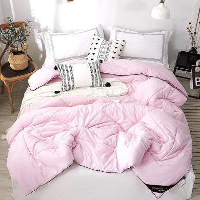 品臥家紡 全棉磨毛棉花被子 學生宿舍單雙人保暖冬被 被芯