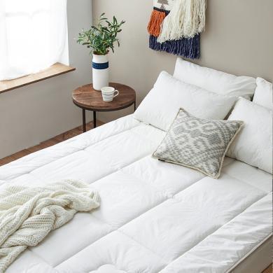 大樸澳毛羊毛床墊加大加厚床褥吸濕透氣冬季保暖床褥學生宿舍墊被