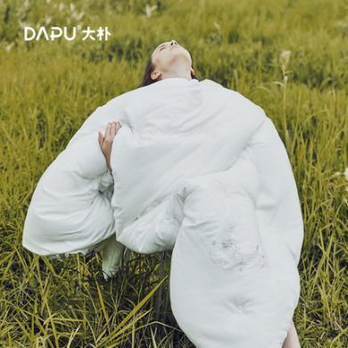 大樸暖芯磨毛刺繡絲綿被芯 冬被加厚保暖被子春秋被褥單人雙人