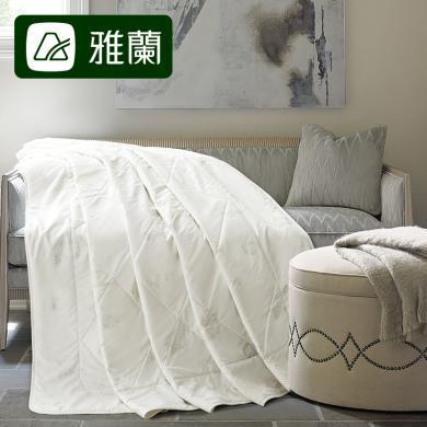 雅兰家纺51%羊毛空调被薄款1.5m床夏凉被1.8米床夏被冷气被被子被芯 馨逸羊毛夏被