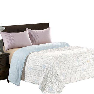 KINTHERI/金絲莉 初棉毛巾被 空調被夏被春秋被四季被薄被清新情侶被子被褥棉被被芯