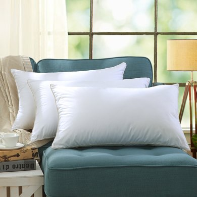 【低敏親膚 3種高度可選】LOVO家紡成人枕芯枕頭親膚柔軟呵護睡眠單人枕頭