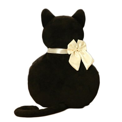 卡通背影猫暖手宝 卡通防爆暖宝宝 新款时尚防爆抱枕可拆洗
