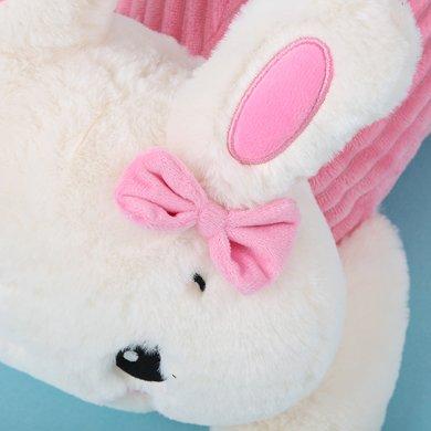 可愛卡通兔子趴趴暖手寶安全防爆自動斷電暖手寶電熱水袋
