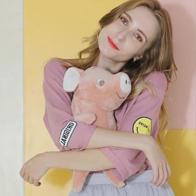 羞羞兔新款小猪约翰充电热水袋双插手电暖宝 防爆暖水袋