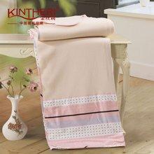 KINTHERI/金丝莉 布鲁士舒棉毯 空调被空调毯午休四季毯子办公室毯盖毯四季毯床单