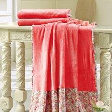 KINTHERI/金丝莉 红磡柔绒毯 空调被空调毯休闲午睡天鹅绒毛毯四季毯子床单