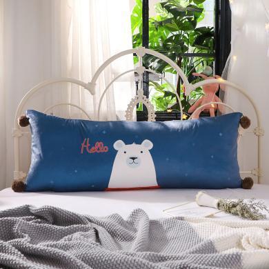 羽芯家紡  水晶絨床頭大靠墊靠枕抱枕