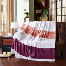 【恒源祥家紡】 親膚柔軟毛毯 法蘭絨毯子 毛毯 雙人毯子 保暖舒適毯子 舒適毛毯 (雅韻絨毯)