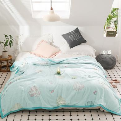 帝豪家纺 珊瑚毯保暖毛绒床单宿舍小被子法兰绒床垫被子午睡盖毯