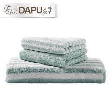 大樸阿瓦提毛巾浴巾三件套純棉長絨棉吸水加厚全棉洗浴套裝多件套