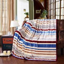 【恒源祥家紡】親膚柔軟 法蘭絨雙人保暖舒適毛毯子(艾尚絨毯)毛毯 毯子 成人保暖毯子 毛毯系列